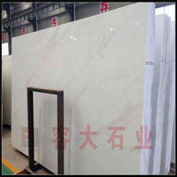 Jazz white natural marble floating window countertop ledge step door line stone background wall retaining strip custom-made