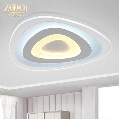 現代簡約異形LED吸頂燈臥室客廳書房溫馨燈具亞克力創意個性燈飾網友購買經歷