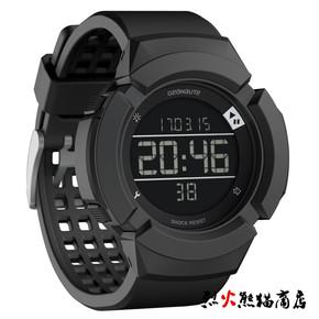迪卡侬W700XC M 户外运动多功能防水电子表手表