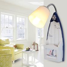 儿童房地中海灯具 帆船海鸟壁灯卧室灯床头灯卡通创意LED地区包邮