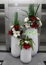 大型落地花瓶套装欧式时尚现代居家装饰品客厅摆件仿真花艺组合