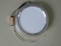 照明集成吊顶浴霸取暖器中间圆灯8寸LED平板灯卫生间厨房四灯暖