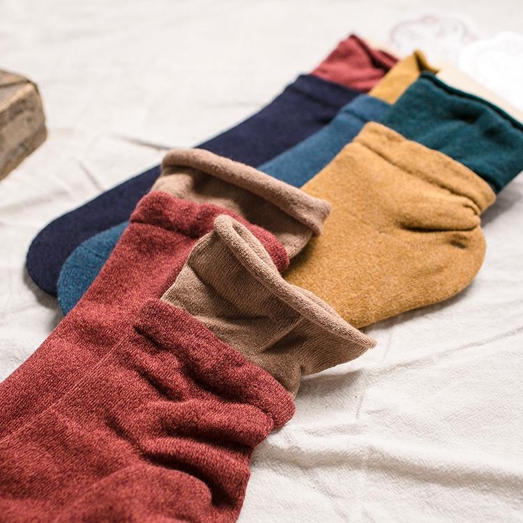 假兩件堆堆襪