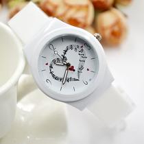 情侣手表简约钢带女士表韩国时尚女款石英腕表韩版时尚男表