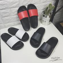 沙滩鞋 韩国情侣拖鞋 夏天男女士防滑家居家用浴室室内外洗澡凉拖鞋