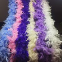 Feather strip fire piece turkey feather strip feather scarf bouquet packaging stage wedding decoration wedding dress tail