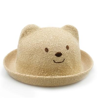 宝宝帽子小熊