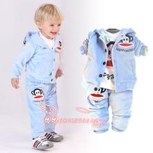 婴儿童装春秋装0-1-2-3岁女宝宝衣服装 2014男童女童婴幼儿外套装