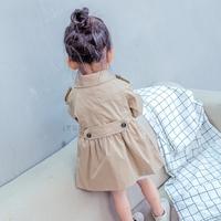宝宝时尚风衣