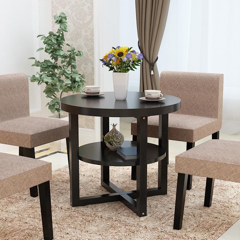 橢圓形餐桌現代簡約