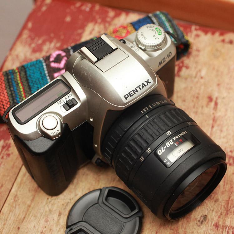 宾得MZ10自动胶片机胶卷单反相机28-80/4 AL 镜头套机 故障 摆设