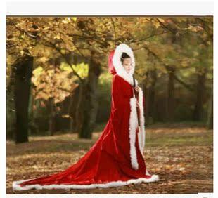 特价古装服装cos冬季披风仙女装儿童复古毛披肩唐装斗篷甄嬛传款