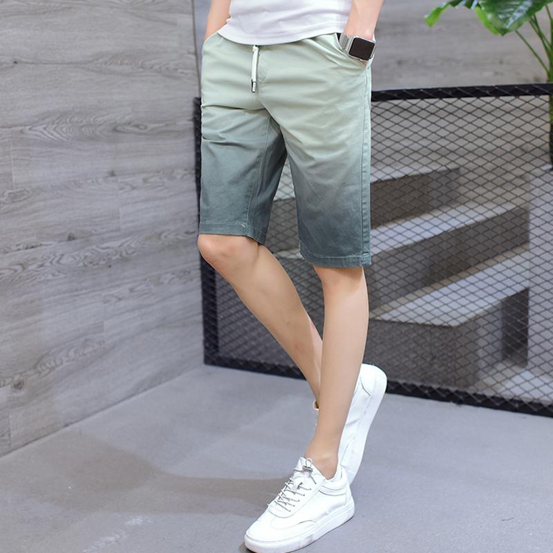 夏款韩版男裤