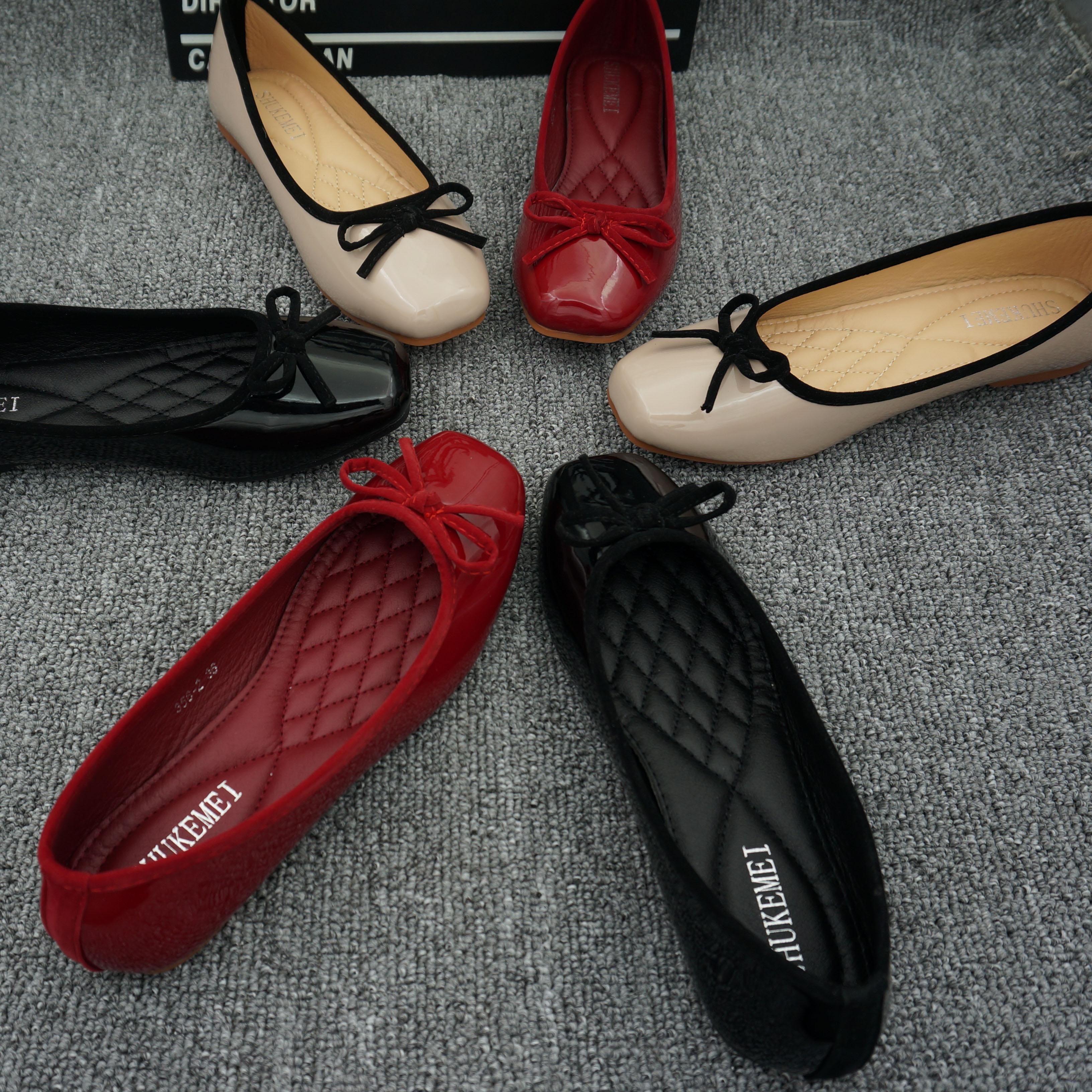 船鞋单鞋女