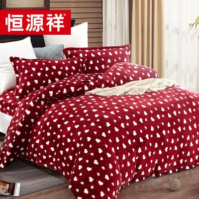 家纺京东购物商城简约床单式被套床上用品品纯棉床品单人四件套