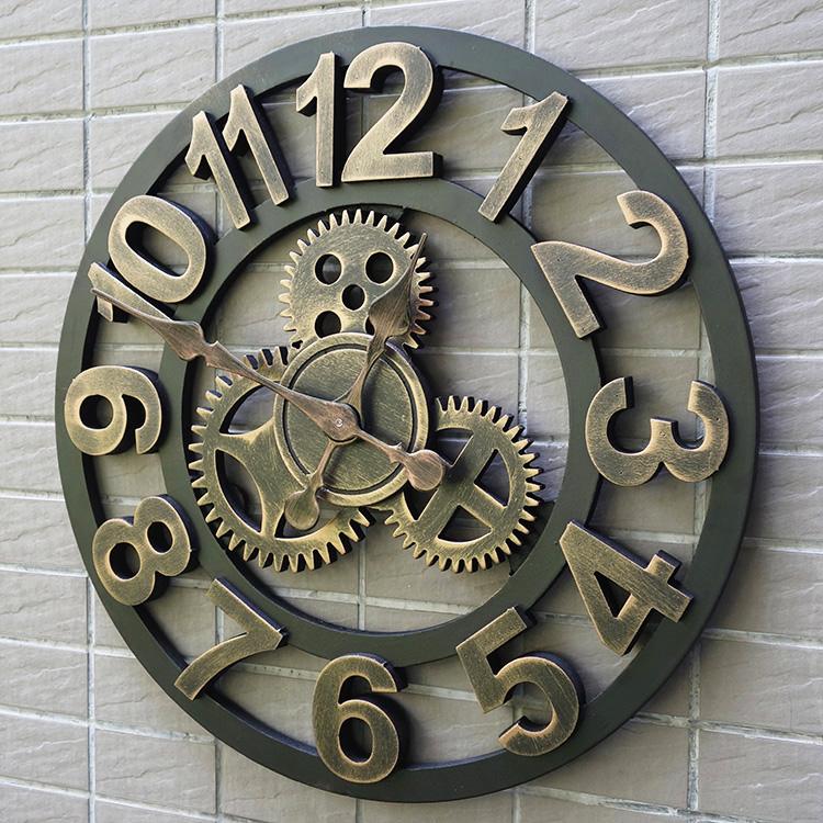 客厅装饰钟表创意挂钟装饰家居