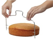 Double Cake Adjustable New Line Cut Steel Metal Stainless