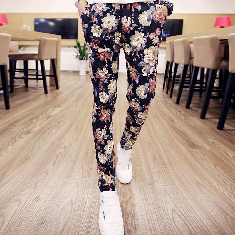 民族时尚休闲裤