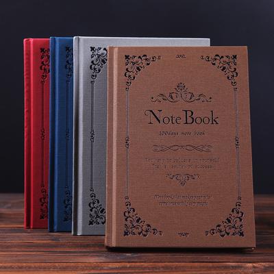 玄幻魔法书A5笔记本硬面抄复古欧式风加厚商务记事本学生本子定制