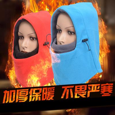 骑行面罩秋冬防风防寒面罩电动摩托自行车保暖口罩CS头套骑行装备