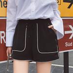 原宿高腰短裤