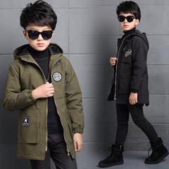 男童加长外套