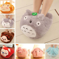 Cartoon cute Stitching KT Chinchilla computer Internet feet warm feet warm slippers large plush toys