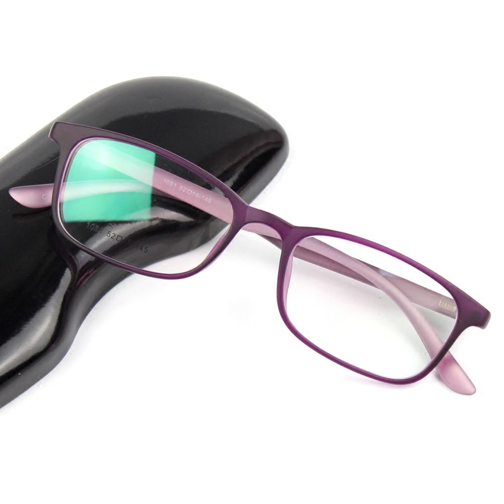 眼镜框女紫色