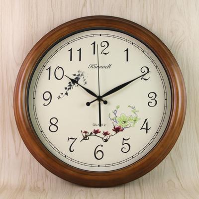 欧式静音客厅单面挂钟哪个品牌好
