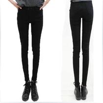 高个子女装170-175春装 加长版打底裤超长外穿单裤薄款高腰小脚裤