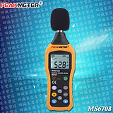 PEAKMETER HUAYI MS6708 digital sound scale meter, noise meter backlight automatic range PMS6708