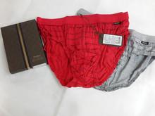 短裤 莫代儿LOGO格纹三角内裤 内裤 男士 30070 金利来男士