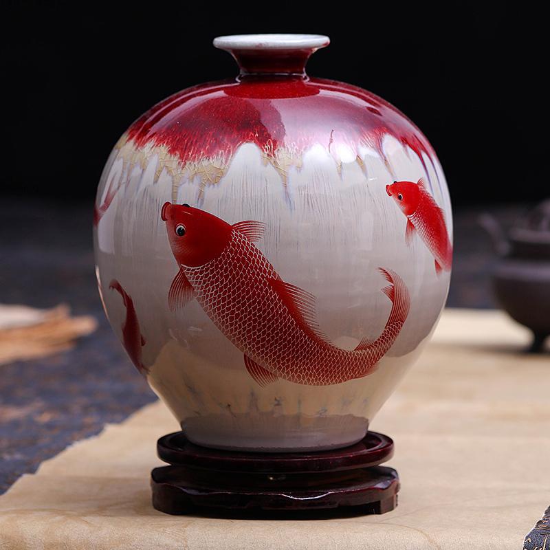 景德镇裂纹瓷器