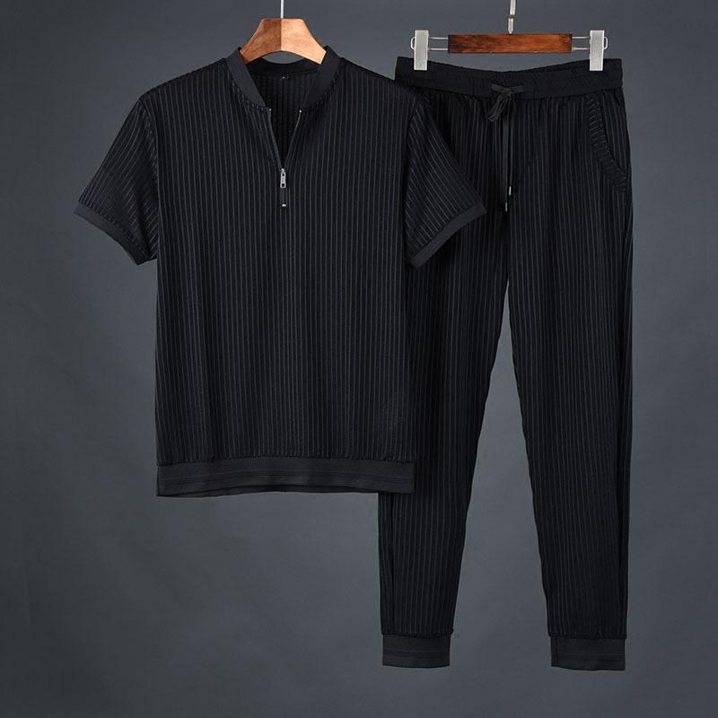 韩国进口短袖两件套