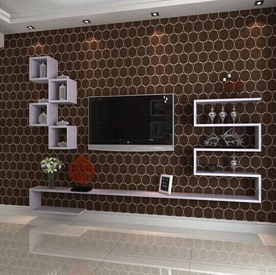 创意隔板搁板置物架挂壁电视柜壁挂机顶盒架电视背景墙装饰架壁架哪里购买