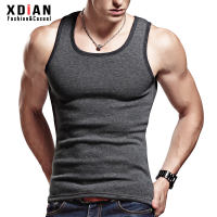 Men's warm vest men's winter thickening plus velvet underwear tight-fitting youth bottoming cotton vest vest inside wearing
