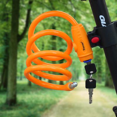 通用自行车锁山地车钢丝锁电动车锁具儿童自行车可用骑行装备配件性价比高吗