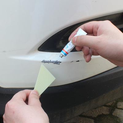 点缤小补土膏补漆膏原子灰汽车身漆面划痕刮痕修复速干补漆腻子膏