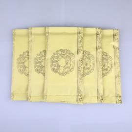 湿毛巾酒店餐饮广告餐饮用定制订做印logo印字订定做一次性湿纸巾图片