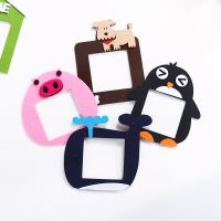 Cartoon cute felt switch stickers living room bedroom dust switch decorative stickers home switch cover switch pad wall stickers