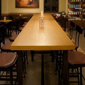 星巴克长吧桌 星巴克吧桌 星巴克高吧桌 星巴克咖啡厅吧台桌椅