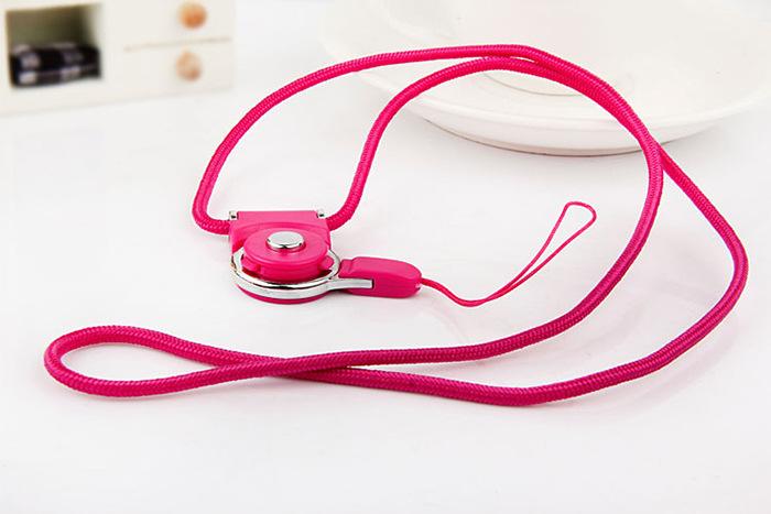 韩版手机挂绳挂脖个性创意可拆卸多功能可爱女款通用指环扣短情侣