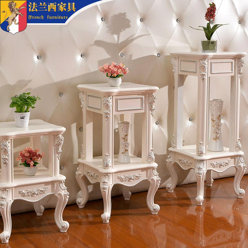 花架实木简约现代客厅欧式