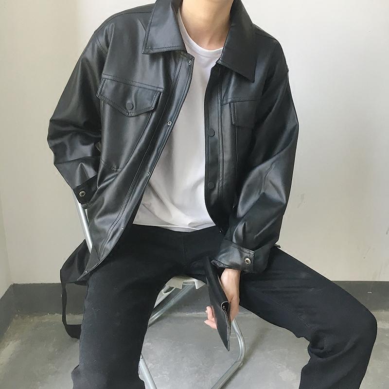 韩国皮西服