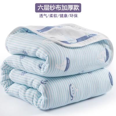 六层纱布毛巾被纯棉双人单人毛巾毯子夏季儿童婴儿午睡毯盖毯夏被