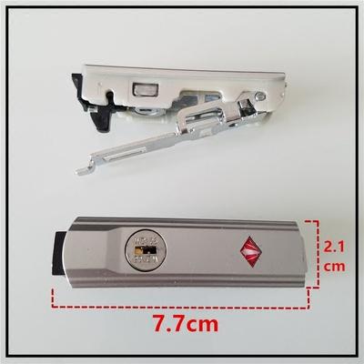 拉杆箱维修配件锁WD106铝框箱锁扣旅行箱海关锁行李箱 钥匙搭扣锁