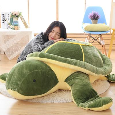 乌龟公仔毛绒玩具海龟玩偶娃娃大号抱枕坐垫靠垫生日礼物男女