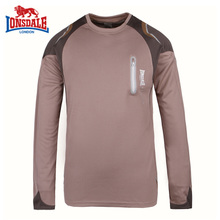 Lonsdale Dragon Lion Dell Genuine Male Outdoor Long Sleeve Speed Dry T-shirt Long Sleeve Round-collar T-shirt 189050136