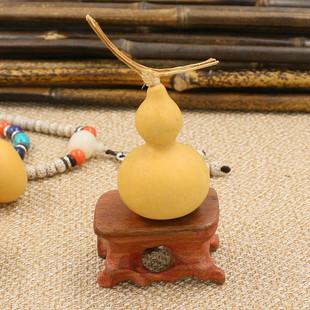 新货带龙头小葫芦摆件把玩葫芦文玩葫芦手捻葫芦小葫芦装饰品