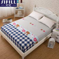 Bed 笠 single piece cotton cotton bed linen bed cover 1.2m1.5 m 1.8 mattress Simmons protective cover bed cover
